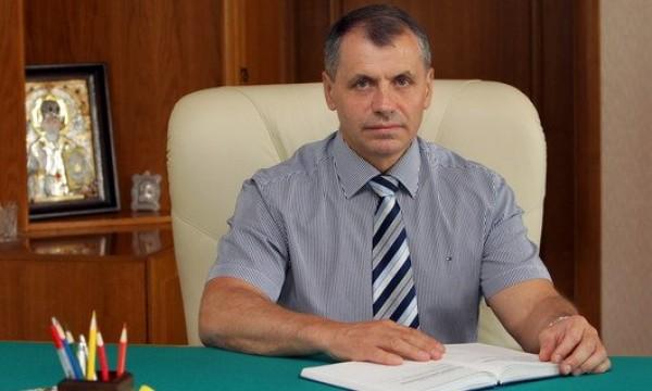 Спикер государственного совета Крыма Константинов отказался от заработной платы