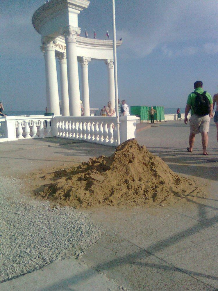 Имидж курорта Алушта, набережная