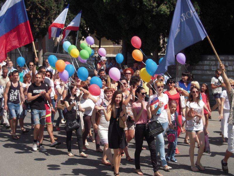 Алушта отметила вторую годовщину в составе России