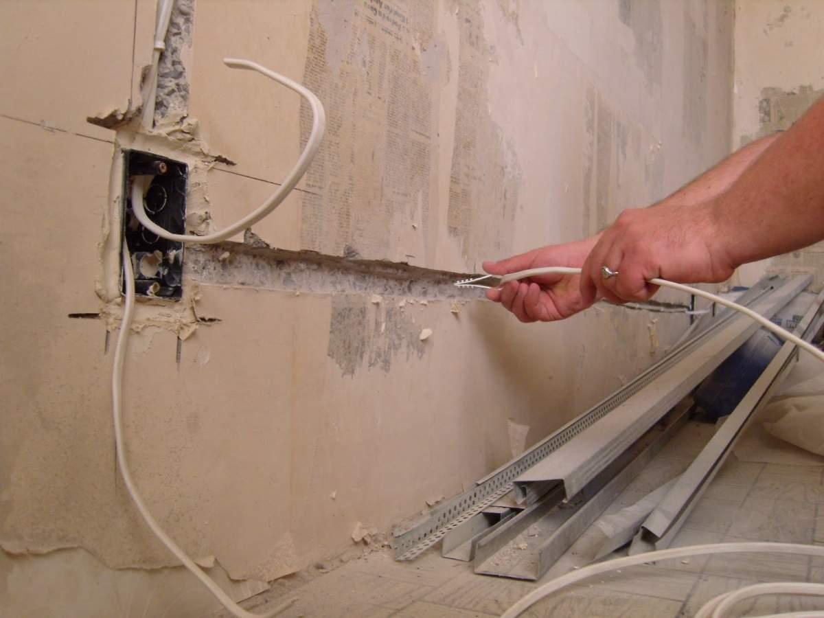 Проводка в квартире своими руками фото