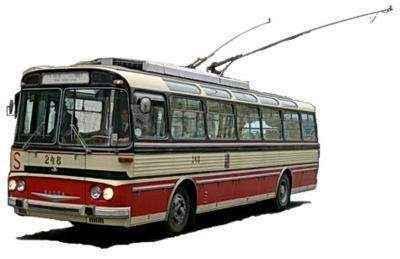 История крымского троллейбуса