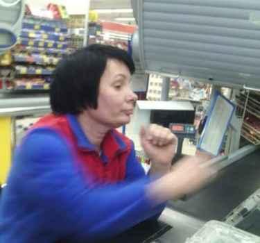 Хамство в супермаркете «ПУД»