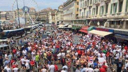 Полиции не удалось задержать ни одного российского футбольного фаната.