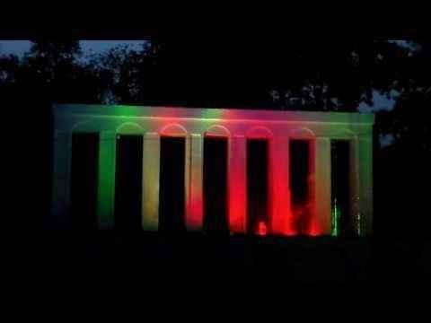Алуштинский музыкальный фонтан парка миниатюр