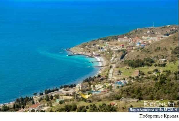 Крым в России на четвертом месте по туристической привлекательности.