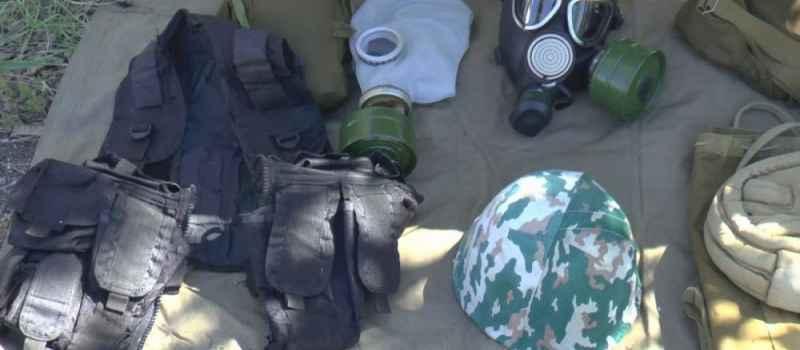 Зональные состязания в военно-спортивной игре