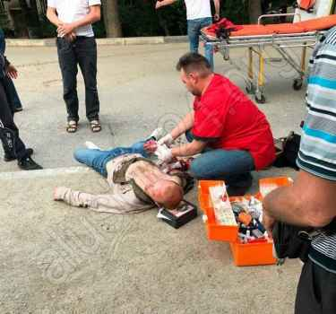 Жителю Алушты неизвестные нанесли ножевые ранения