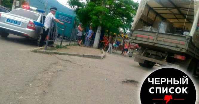 Обращение к водителям грузового транспорта, осуществляющего подвоз товаров в магазины в районе