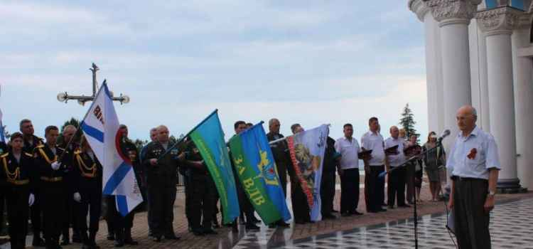 Проведение традиционного церемониала памяти по погибшим во время Великой Отечественной войны (фоторепортаж)