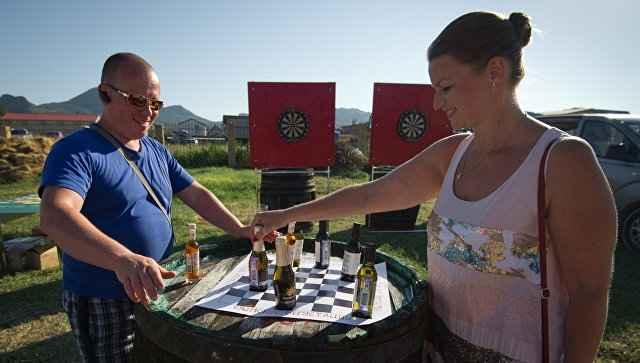Крымский фестиваль вина набирает обороты