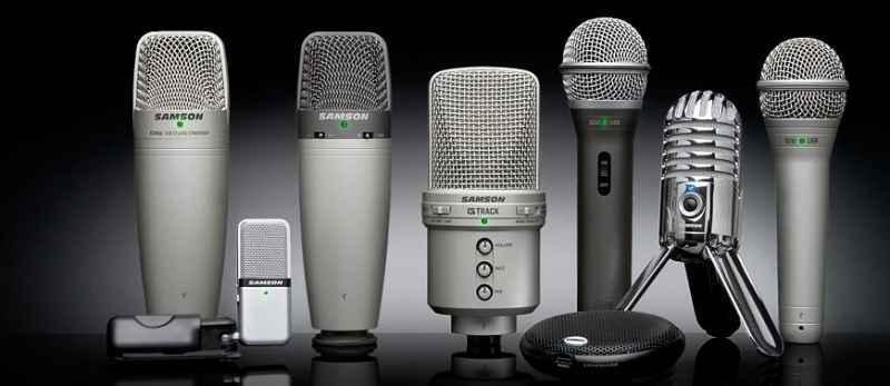 Типы современных микрофонов 10 августа 2017