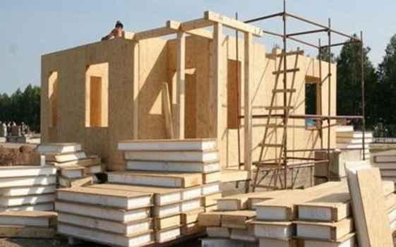 Особенности строительства дома из сип панелей 25 августа 2017