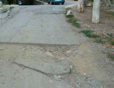 На улице Таврической проложили коммуникации без нанесения твердого покрытия