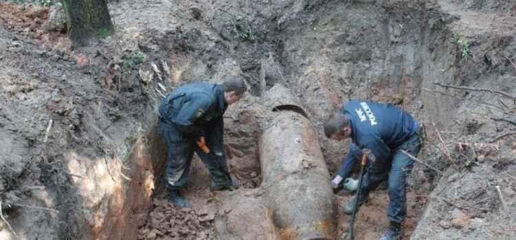 В районе Алушты обезвредили осколочную бомбу