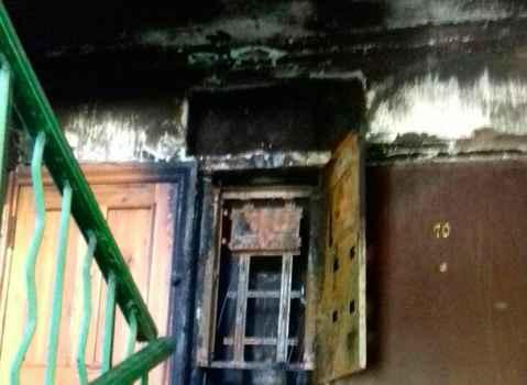 На Симферопольской, 26 произошло замыкание старой проводки