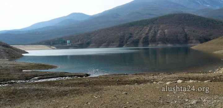 Алуштинское водохранилище. 28 февраля 2015