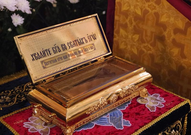 28 августа в Алушту прибудут мощи святителя Феофана
