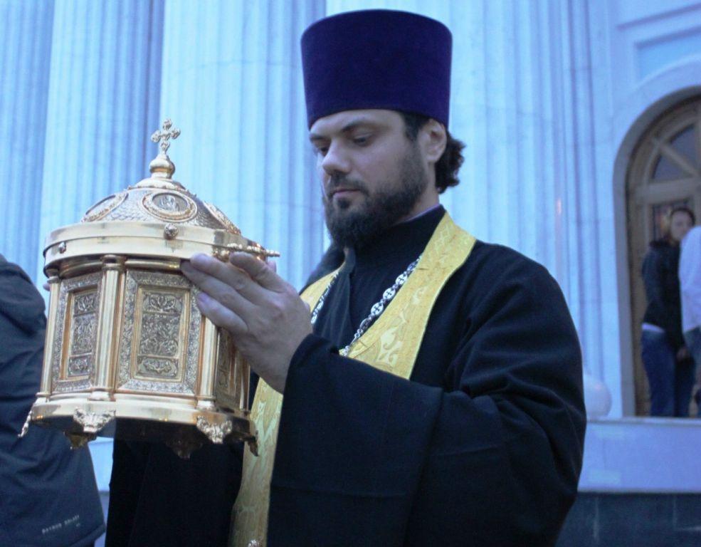 В Алушту доставят ковчег с частицами мощей адмирала Ушакова