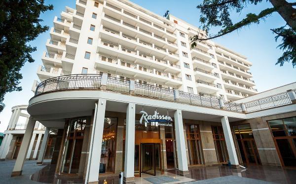 В Алуште временно закрылся отель Radisson