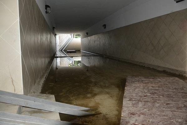 Подземный переход или бассейн
