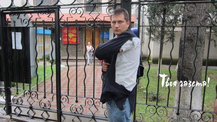 Депутата горсовета Алушты Павла Степанченко выпустили из полиции