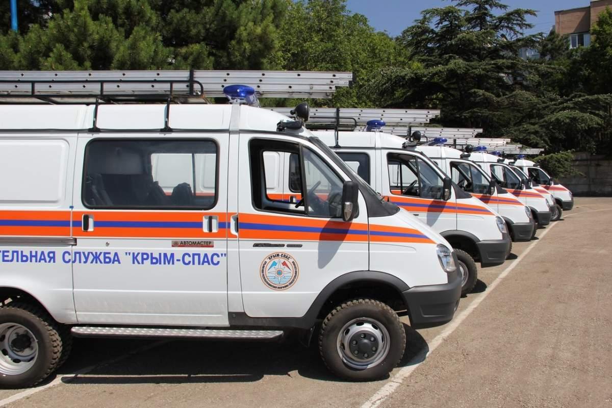 Алуштинские спасатели получили новую аварийно-спасательную технику