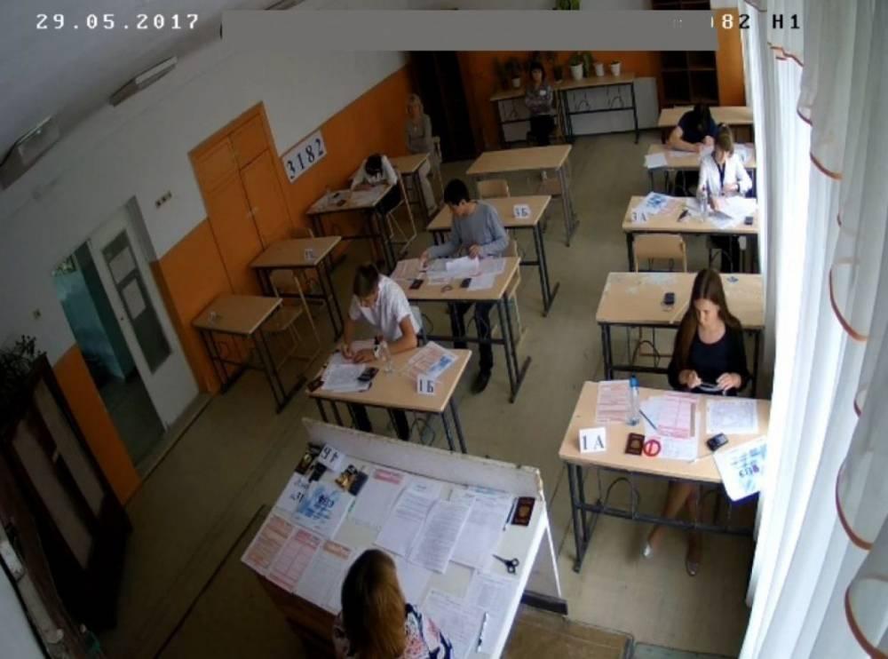 В Алуштинских школах установлено видеонаблюдение за сдачей ЕГЭ