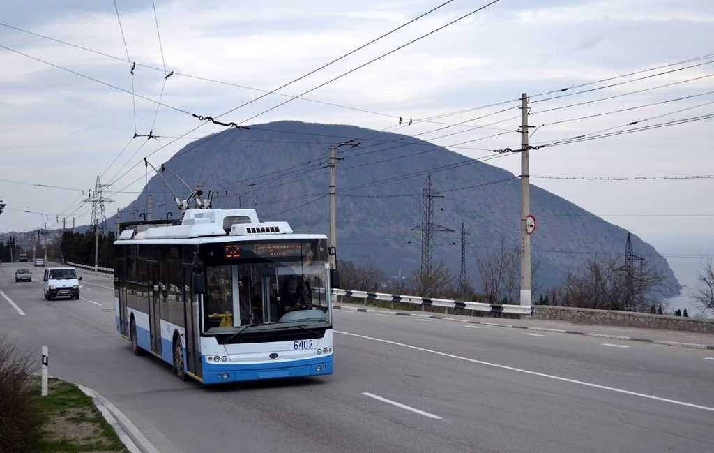 В Алуште появятся новые троллейбусы разработанные для горной трассы