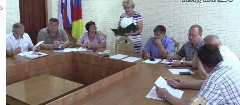 Аппаратное совещание алуштинского горсовета, 18 июля 2017