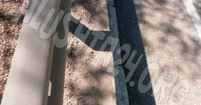 В Верхней Кутузовке тротуар не соответствует требованиям безопасности при осуществлении дорожного движения
