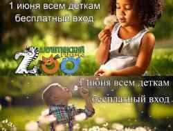 Подарок детям на день защиты детей - бесплатный вход в алуштинский аквариум и алуштинский зоопарк