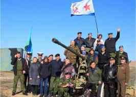 Алуштинцы на митинге памяти начала второй обороны Севастополя (фоторепортаж А.С. и Г.И.)