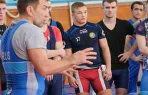 Учебно-тренировочное мероприятие сборной России по греко-римской борьбе в Алуште