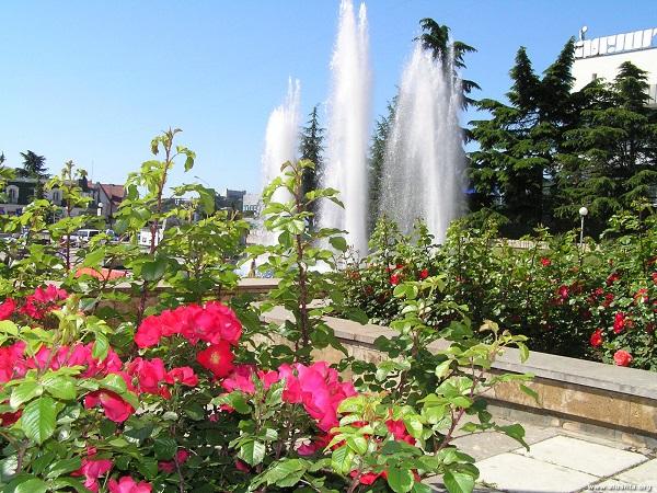 Алушта фонтан