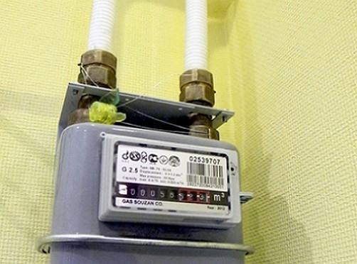 образец акта поверки газового счетчика