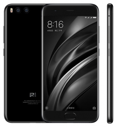 Смартфон Xiaomi Mi6 6Gb/64Gb LTE black