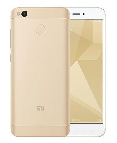 Смартфон Xiaomi Redmi 4X 3Gb/32Gb LTE gold