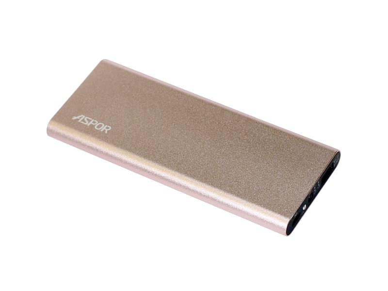 Внешний аккумулятор Power Bank Aspor A383 10000mah