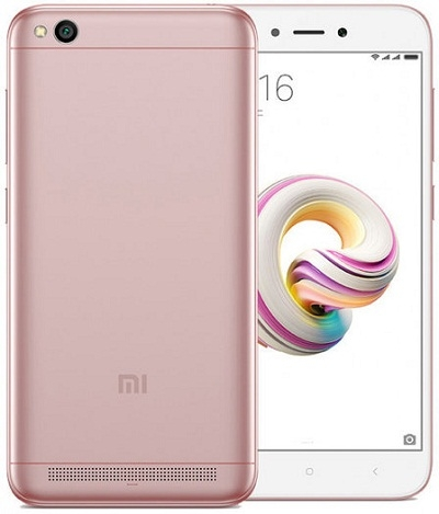 Смартфон Xiaomi Redmi 5A 2Gb/16Gb Rose Gold