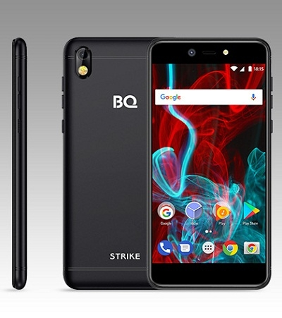 Смартфон BQ 5211 Strike Black