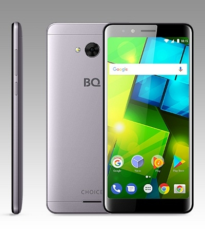 Смартфон BQ 5340 Choice gray