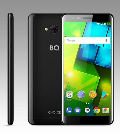 Смартфон BQ 5340 Choice glossy black