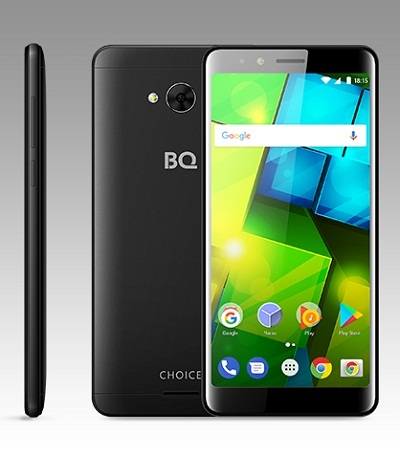Смартфон BQ 5340 Choice black