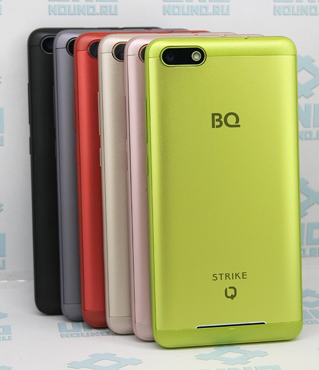 Смартфон BQ 5020 Strike Dark Gra