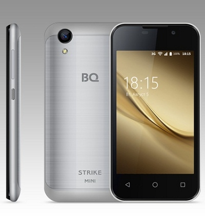 Смартфон BQ 4072 Strike mini Silver