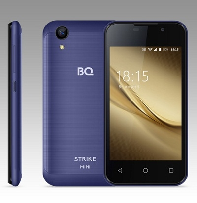 Смартфон BQ 4072 Strike mini Dark Blue