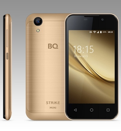 Смартфон BQ 4072 Strike mini Gold