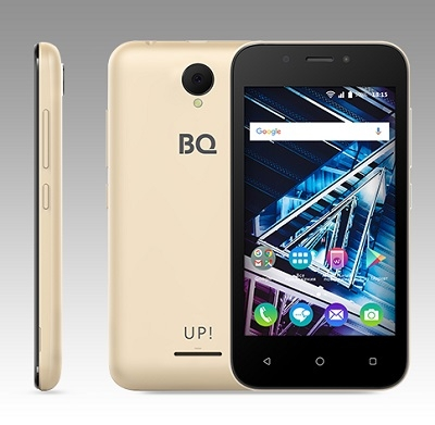 Смартфон BQ 4028 UP! gold