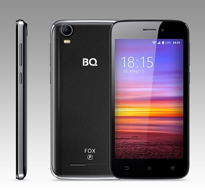 Смартфон BQ 4583 Fox Power Black
