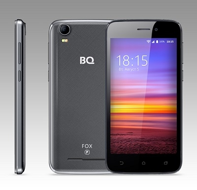 Смартфон BQ 4583 Fox Power Gray